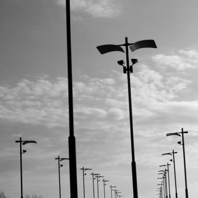 pont et lampadaires