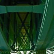 Dessous du pont Corneille, Rouen