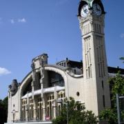 La gare sncf de Rouen