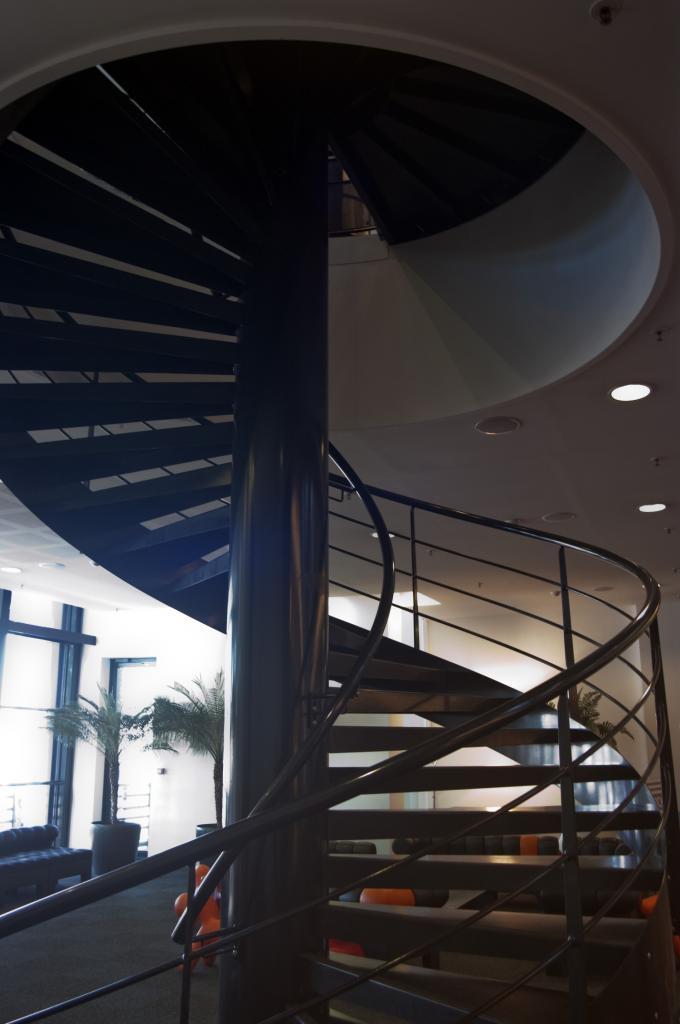 Escalier en hélice