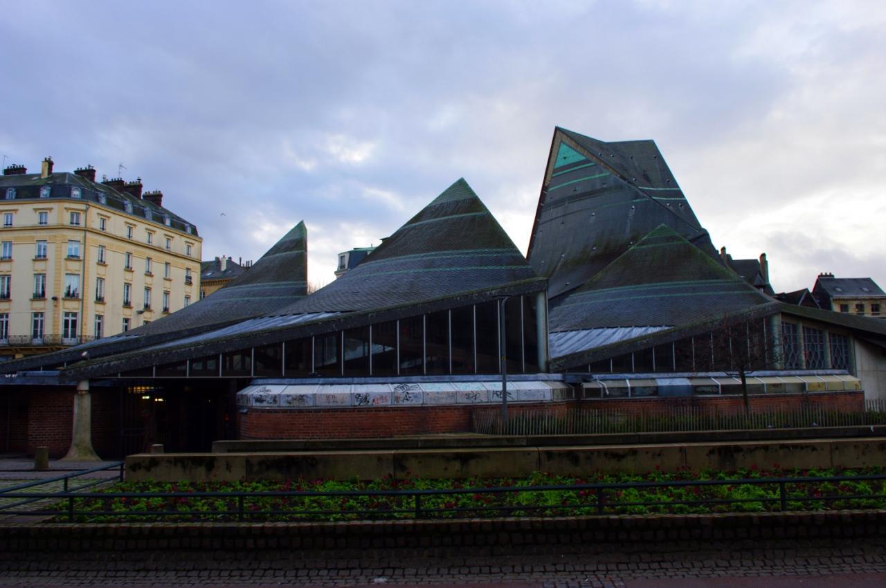 Marché fermé, Rouen