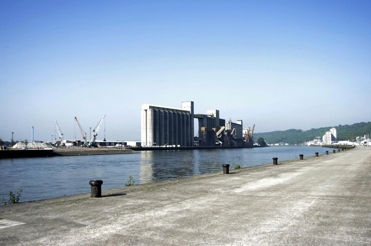 les silos de Rouen